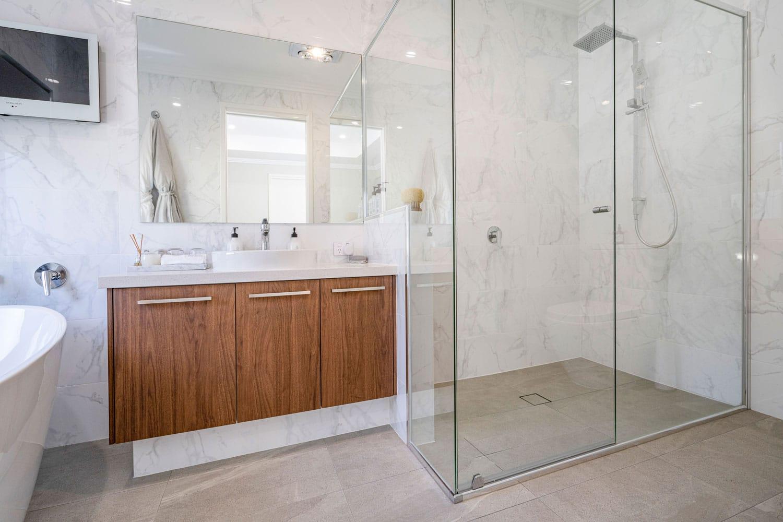 custom built luxury bathroom